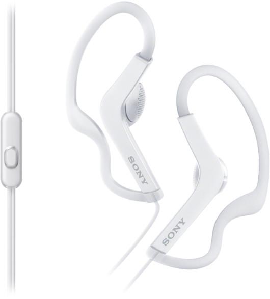 Sony MDR-AS210AP Наушники-вкладыши белый
