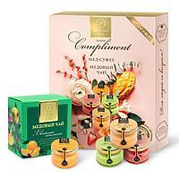 Набор Peroni «Compliment» с чаем, 4х30мл + чай 35г