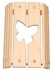 Абажур (липа) угловой бабочка