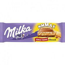 MILKA Choco & Biscuit MMMax /Швейцария/  300 грамм  (12 шт. в упаковке)