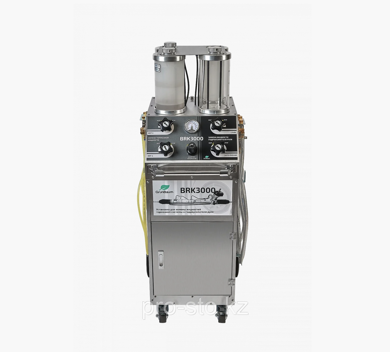 Установка для замены тормозных жидкостей и гидравлических сцеплений GrunBaum BRK3000