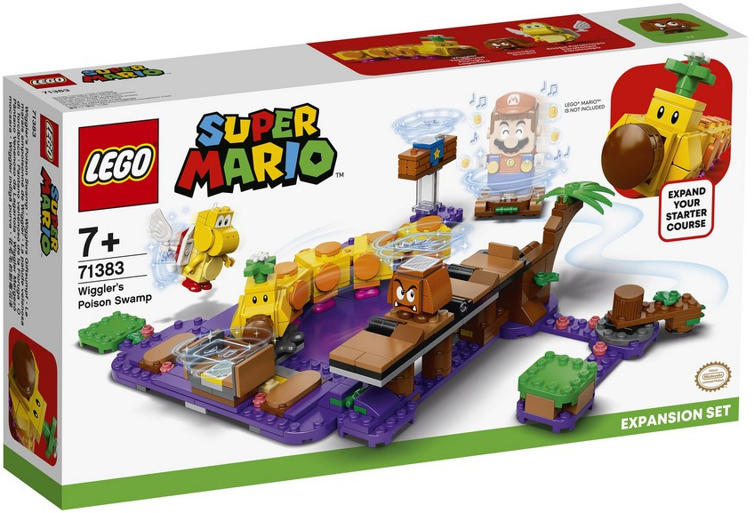 71383 Lego Super Mario Ядовитое болото егозы. Дополнительный набор, Лего Супер Марио