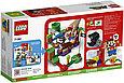 71381 Lego Super Mario Кусалкин на цепи — встреча в джунглях. Дополнительный набор, Лего Супер Марио, фото 2