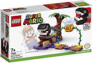 71381 Lego Super Mario Кусалкин на цепи — встреча в джунглях. Дополнительный набор, Лего Супер Марио