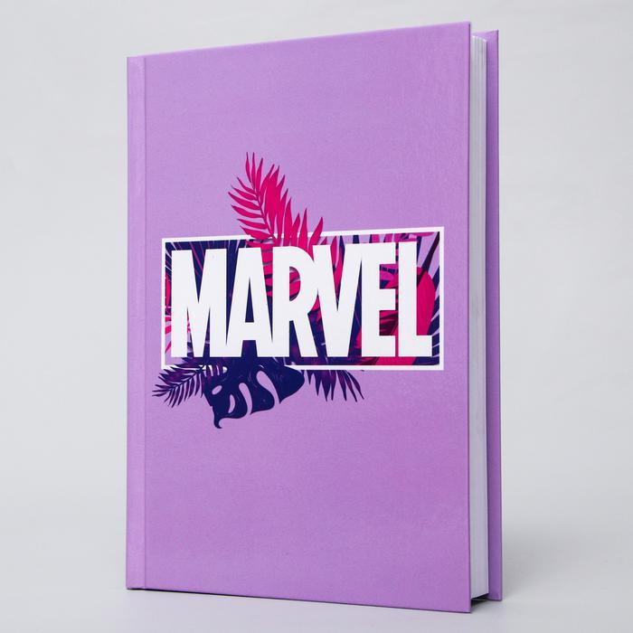 Ежедневник А5, 160 листов «Мстители. Тропики»