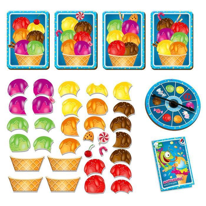 Магнитная игра «Мороженое» - фото 2
