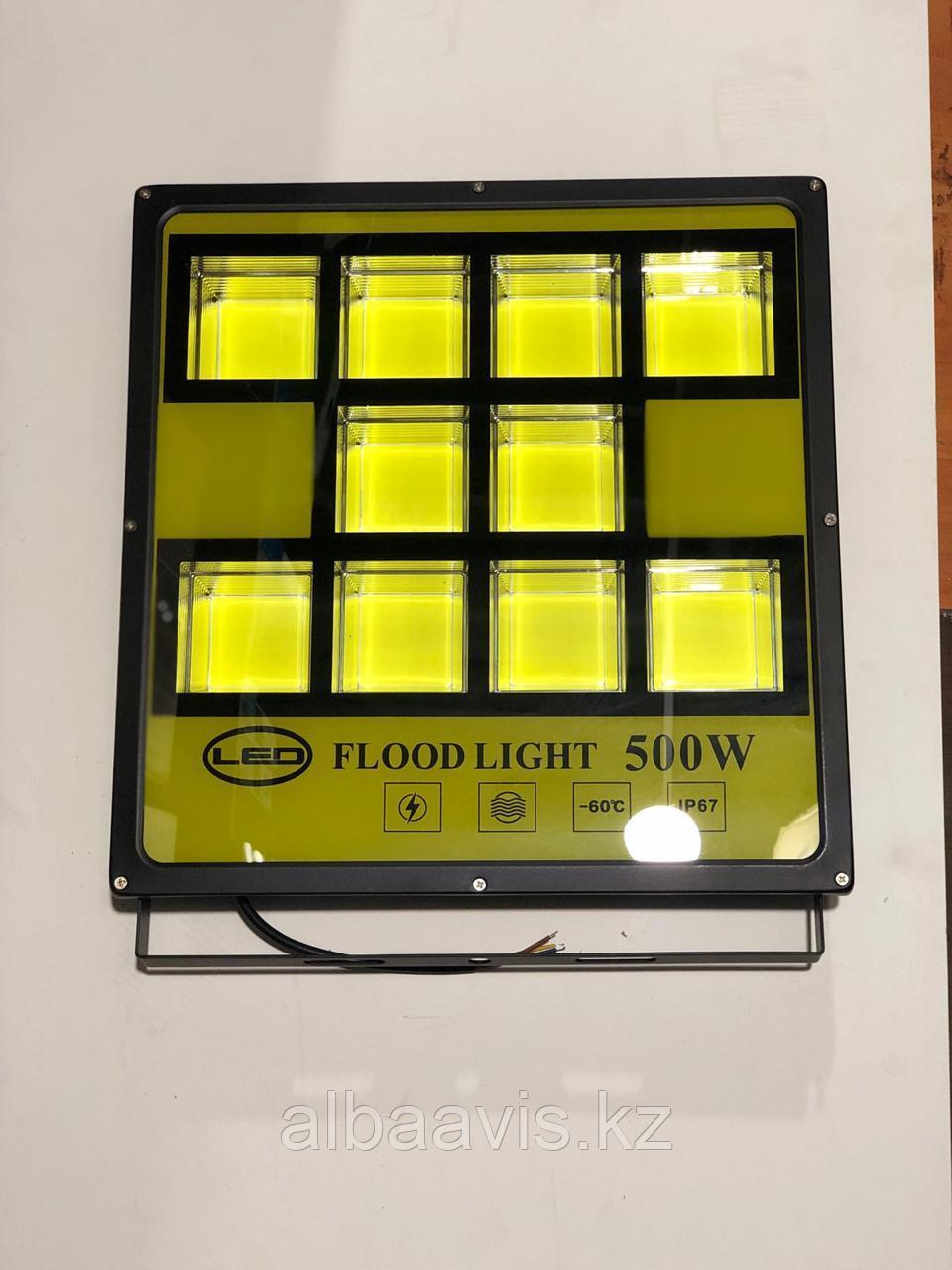 Прожектор светодиодный, софиты лед 500 ватт. Прожектр на стройку, прожектор купить на стоянку, на склад.