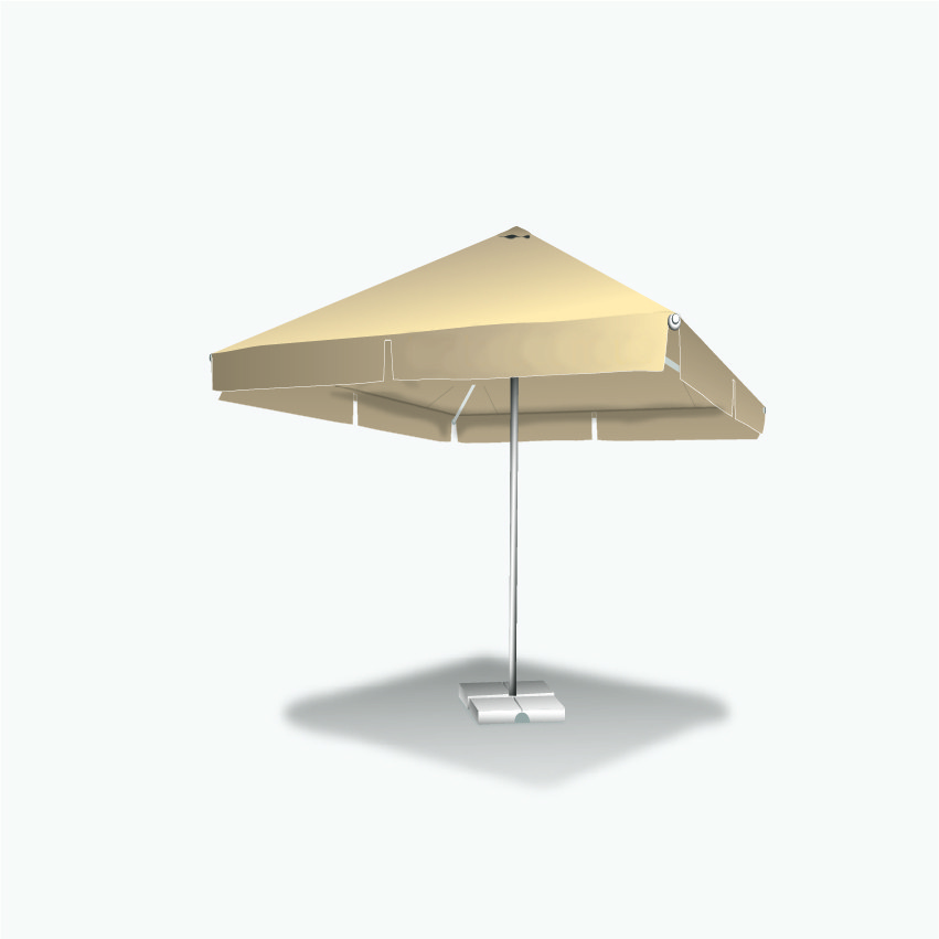 Зонт для летней площадки 2х2