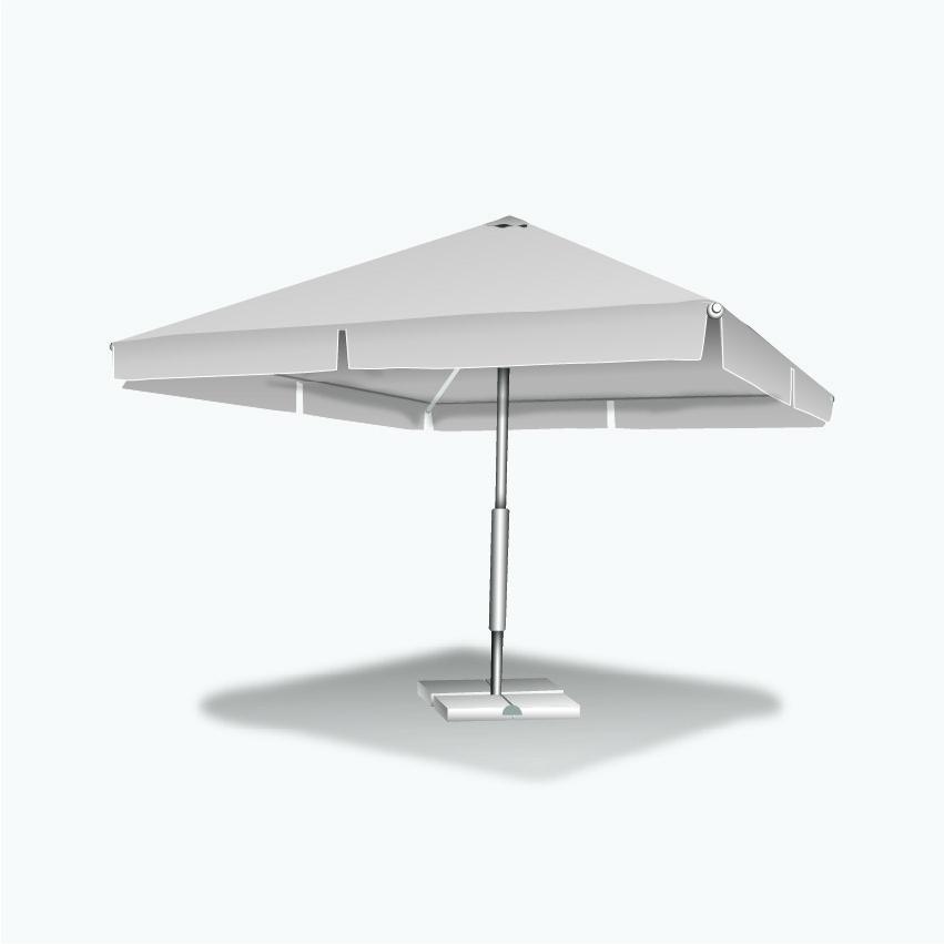 Зонт для летней площадки 4х4