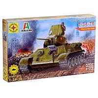 Сборная модель «Советский танк Т-34-76» (1:72)