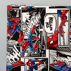 Бумага упаковочная глянцевая двусторонняя, Человек-паук,  60x90 см 5414312