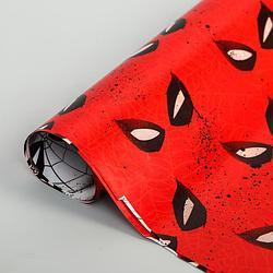 Бумага упаковочная глянцевая двусторонняя, Человек-паук,  60x90 см 5414314