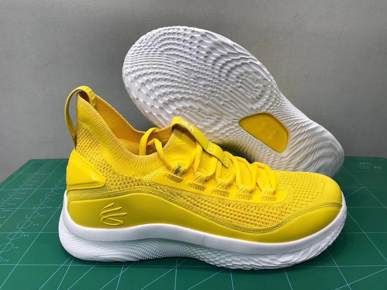 """Баскетбольные кроссовки Curry 8 """"Yellow"""" (40-46)"""