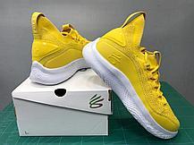 """Баскетбольные кроссовки Curry 8 """"Yellow"""" (40-46), фото 3"""
