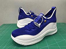 """Баскетбольные кроссовки Curry 8 """"Blue"""" (40-46), фото 2"""