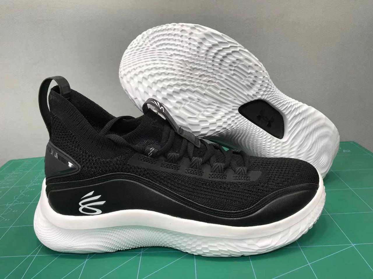 """Баскетбольные кроссовки Curry 8 """"Black"""" (40-46)"""