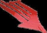 Плуг навесной оборотный Оптикон Мастер А4  3 корпусный с предплужниками и углоснимами, фото 5