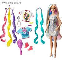 Кукла Барби «Радужные волосы»