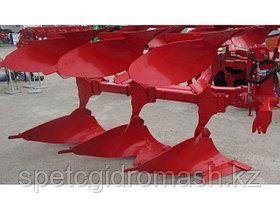 Плуг навесной оборотный Оптикон Мастер А4 3+1 корпусный с предплужниками и углоснимами