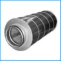 Шумоглушитель трубчатый круглый 140 - 480 серия 5.904 - 17