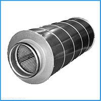 Шумоглушитель трубчатый круглого сечения 160 - 900 евростандарт