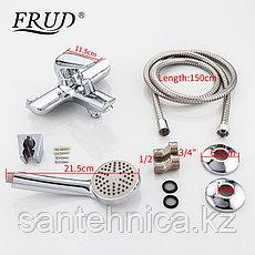 Смеситель для ванны Frud R32102 хром, фото 3