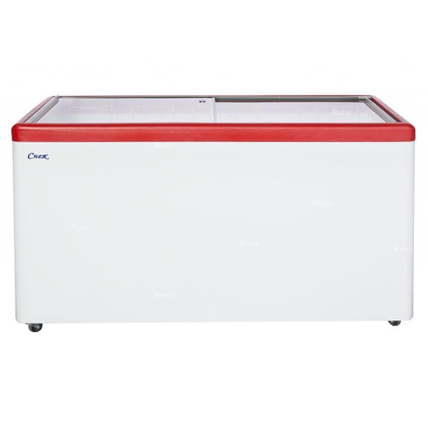 Ларь морозильный Снеж МЛ-500 красный