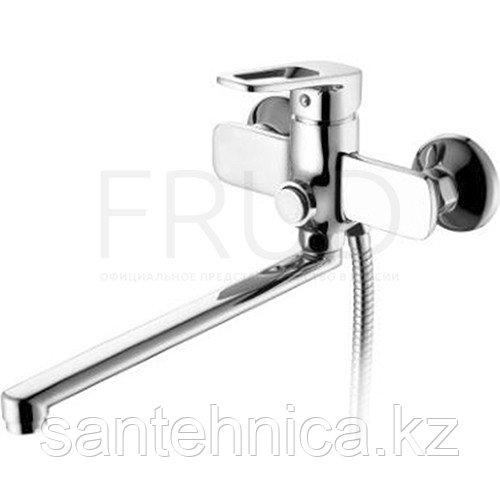 Смеситель для ванны Frud R22122 нажимной хром