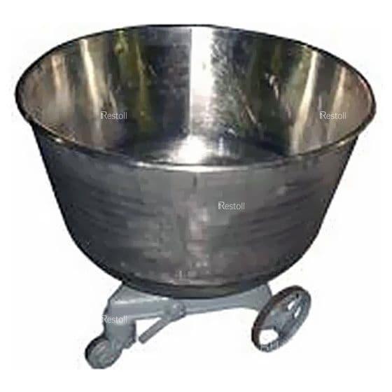 Дежа для тестомеса Пензмаш ТММ-140 нержавеющая сталь