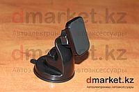 Держатель-магнит для телефона CT-035, на присоске, пластик, черный, универсальный