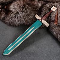 """Сувенирное оружие """"Меч рыцаря"""", деревянное, 46 см, массив бука, микс"""