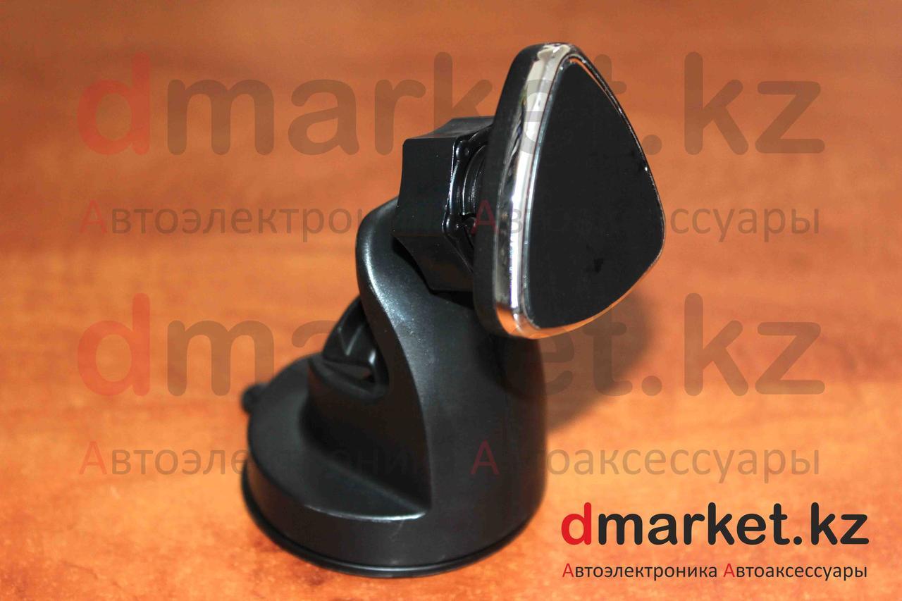 Держатель-магнит для телефона S117, на присоске, пластик, черный, универсальный