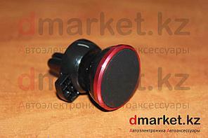 Держатель-магнит для телефона MH-116, в воздуховод, черный, пластик