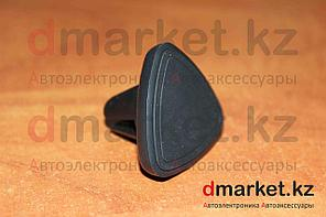 Держатель-магнит для телефона MH-115, в воздуховод, черный, пластик