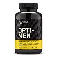 Витамины, Optimum nutrition, Opti men, 90 таблеток