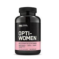 Витамины, Optimum nutrition, Opti Women, 120 капсул