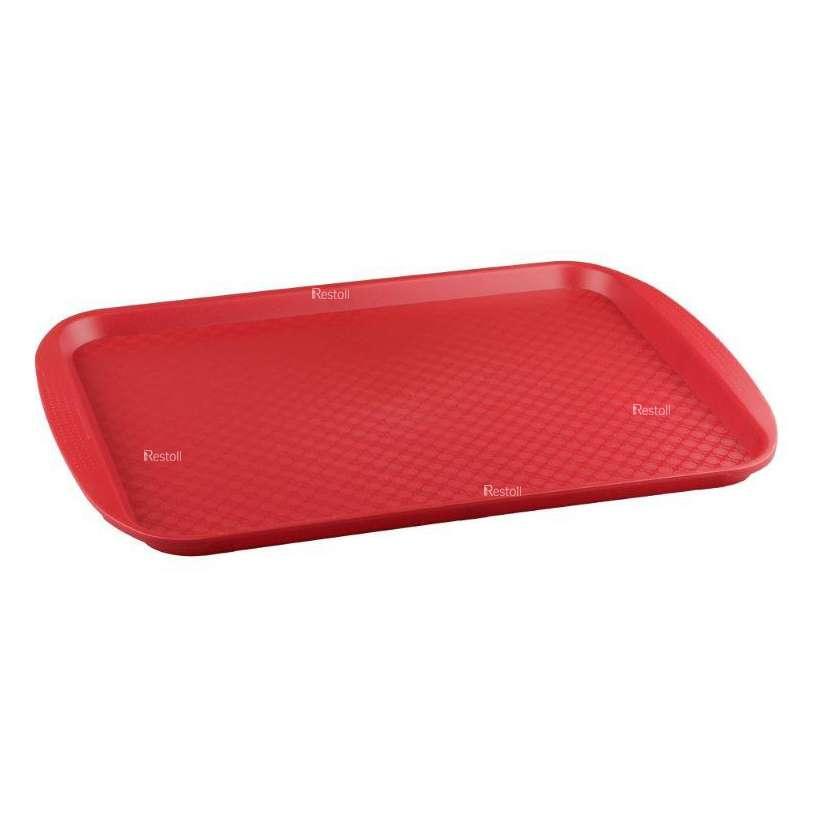 Поднос Restola 420х300, красный