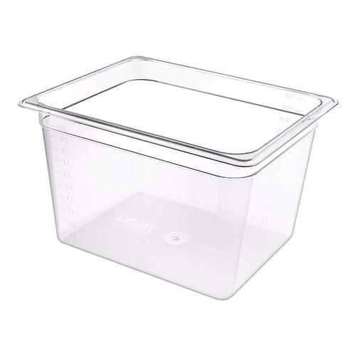 Гастроёмкость Restola 1/2 (325x265x200), прозрачная