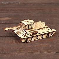 Деревянный конструктор «Танк Т-34»