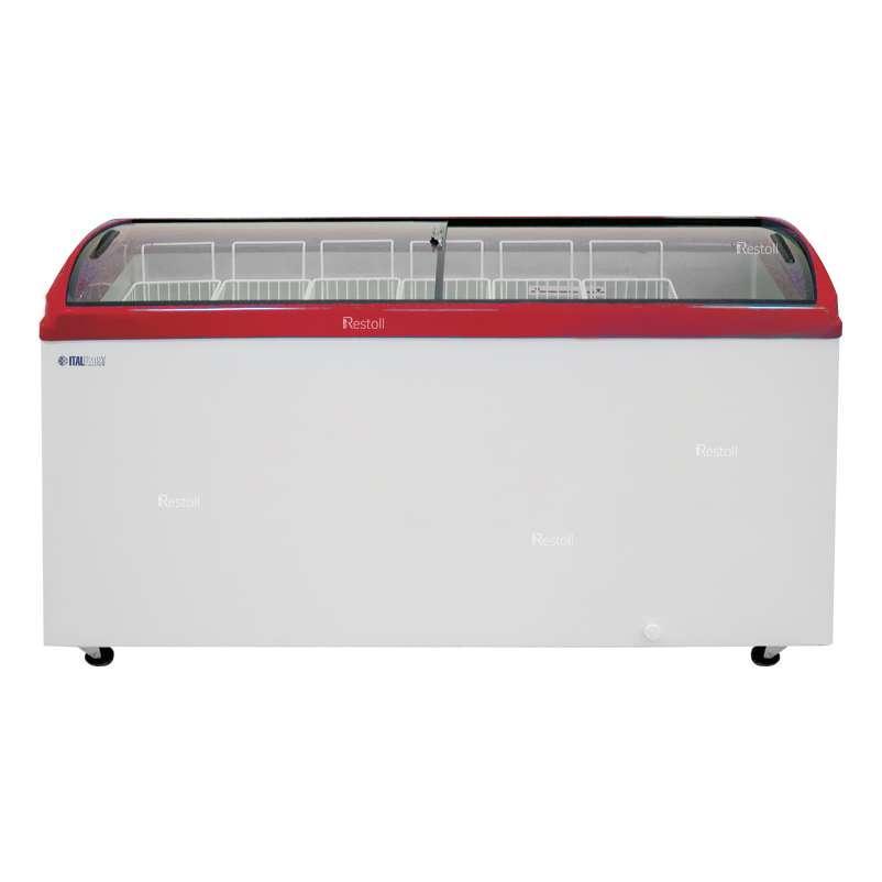 Ларь морозильный Italfrost CF600C (ЛВН 600 Г) красный