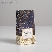 Пакет подарочный без ручек Present just for you, 10 × 19.5 × 7 см