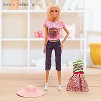 Кукла-модель шарнирная «Лиза» с аксессуарами, МИКС