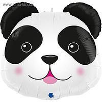 """Фольгированный шар 29"""" «Голова панды», фигура"""