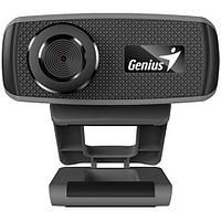 Web-Camera GENIUS FaceCam 1000X v2, 720p, 30 fps, bulld-in microphone, manual focus. Black