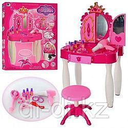 """Трюмо """"Волшебное зеркало"""" с MP3, волшебной палочкой, феном, аксессуарами, игровой набор, свет, звук 661-20"""