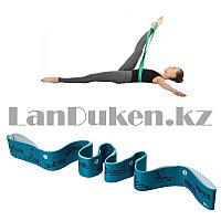 Резинка для фитнеса эластичная универсальная с инструкцией березовая длинна 92 см