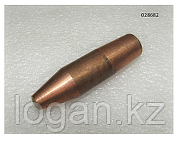 МТР 16/25 электрод верхний, Ø-16, L- 50 (upper electrode)
