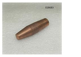 МТР 10 электрод верхний, Ø-14, L- 50 (upper electrode)