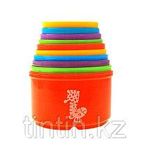 Набор цветных стаканчиков для пирамиды 10 штук, фото 3