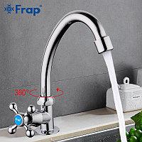 Смеситель для кухни одинарный Frap F4108 хром